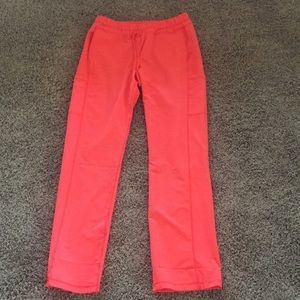 Dickies Dynamix NEON ORANGE Scrub Pants M TALL
